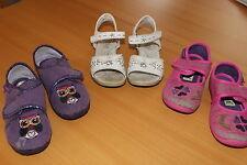 bama Mädchen Schuhpaket Sandalen + Hausschuhe Gr. 28