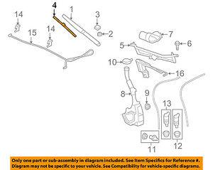 GM OEM Wiper Arm-Front Blade 25941804
