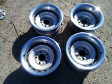 Chevy Truck Rally Wheels 5 Lug 15x8 C10 With Rings