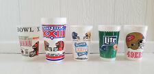 San Francisco 49er's Super Bowl Xxiii, Xxiv, Xxix Stadium Collector Cups