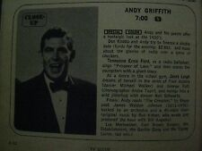 1969  TV  Guide (ANDY GRIFFITH/  LAND  OF  THE  GIANTS/IRONSIDE/DEANNA  LUND
