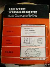 HONDA N360 N600 N600 GT - Revue Technique Automobile