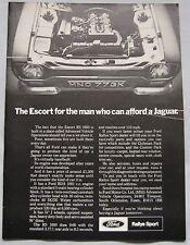 1971 Ford Escort RS 1600 Original advert