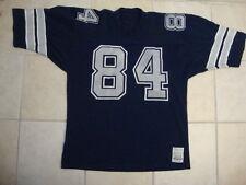 Vintage NFL Dallas Cowboys #84 Authentic Sand Knit medalist Jersey XL