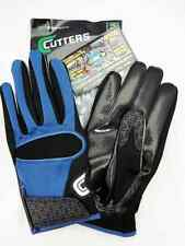 Cutters Gloves Football 017 Royal Blue/Black Size Small