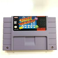 Space Invaders - Authentic SNES Super Nintendo Game Tested & Working!