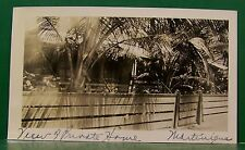 1937 VIRGIN ISLANDS ST. PIERRE MONTINIQUE FRANCE CARIBBEAN S.S. ROTTERDAM PHOTO