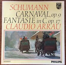 Claudio Arrau on Philips SAL3630 – Schumann Carnaval Op. 9, Fantasia in C