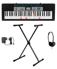 Casio LK-136 Leuchttasten Keyboard Set 61 Tasten Begleitautomatik Stativ Zubehör