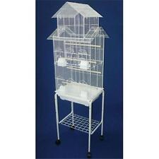 Cages et volières blancs pour oiseau