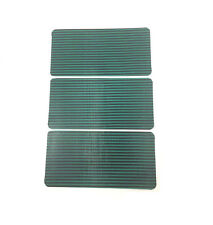 """3 Pack Swimming Pool Safety Cover Patch Green Mesh 4"""" x 8"""" Peel & Stick Adhesive"""