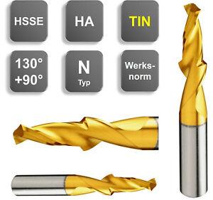 HSS-E Kurzstufenbohrer Kernloch M3 - M12 Stufenbohrer 130°, NEU + TIN Top Bohrer