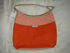 New Kipling HB6632-883 Averina Handbag - Orange Woven Mix
