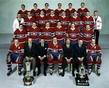 Montreal Canadiens 1968 Stanley Cup Champions 8x10 Photo
