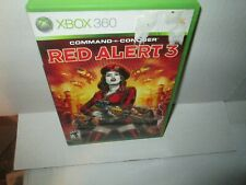 COMMAND & CONQUER - RED ALERT 3 rare XBOX 360 Game (No Manual) Vg