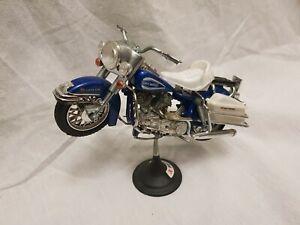 moto polistil vintage Harley davidson Electra Glide 1:15