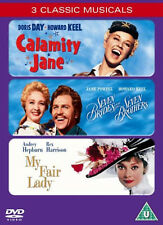 CALAMITY JANE SEVEN BRIDES FOR SEVEN BROTHERS MY FAIR LADY DVD NEW UK Release R2
