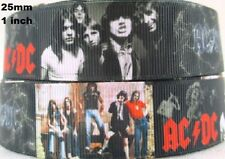 2 metres, ACDC, ,RIBBON,  25 mm, Grosgrain, 1 inch,  Bon, Hair, Free Aus Post