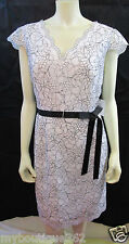 CALVIN KLEIN BLACK/WHITE  DRESS SIZE 14  CD5L1G39 NEW WITH TAG
