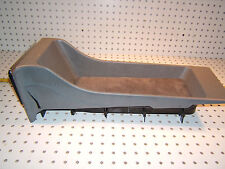 Mercedes Early W126 SEC REAR seat GRAY Open style OE 1 Console & AshT,1268430707
