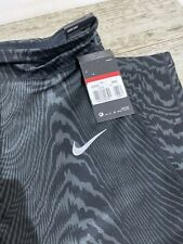 NIKE POWER TIGHT FIT CROP WOMENS RUNNING TIGHTS LARGE 902255-060
