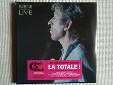 """SERGE GAINSBOURG - """" LIVE """" VINYL 3 LP REMASTERED 2015 FRANCE SEALED"""