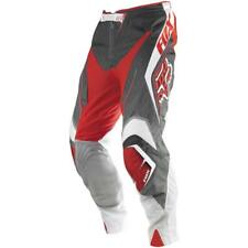 Fox Racing Adult Blitz Race Off Road MX Pants Red Grey Gray White Size 36 DIRTY
