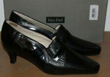 Van Dal Chaussures Femme Galaxy cuir noir & verni talons chaussures UK 7 D Entièrement neuf dans sa boîte F