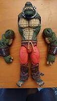 DC Collectibles Batman Arkham City Deluxe Killer Croc Action Figure Broken Arms