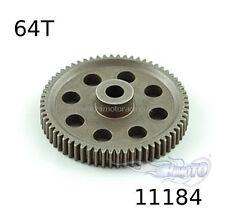 11184 Corona in metallo 1/10 modulo 0.6 (64 denti)