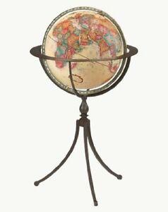 Replogle Marin Floor Globe, Antique