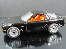 BLACK MAZDA RX-7 PREMIERE COLLECTION LOOSE MATCHBOX 1/58 DIECAST CAR