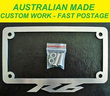 R6 YAMAHA LICENCE / NUMBER PLATE FRAME SURROUND COVER ALL MODELS AUSTRALIAN MADE