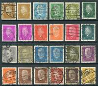 Germany 1928 Ebert & Hindenburg Selection SG # 424-42 VFU 🔥 Z439