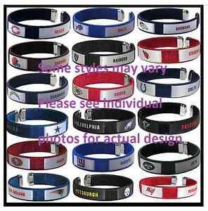 NFL Football Team Color Fan Band Ribbon Bracelets - Pick your team!