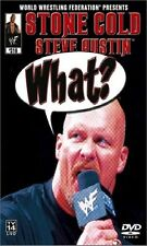 WWE Stone Cold Steve Austin What? DVD original WWF wrestling