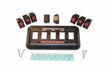 UltraHeat - 5 Gang System Switch Package with Combo Lighted Switches, assortment