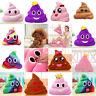 Amusing Emoji Emoticon Soft Cushion Heart Eyes Poo Shape Pillow Doll Toy Gift