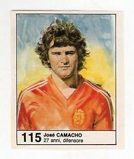 Figurina picture cards NEW IL GIORNALINO MUNDIAL 82 1982 N. 115 CAMACHO