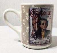 Vintage Cosmopolitan Magazine Coffee Mug Cup May 1937 Hearst's Intl Woman Horse