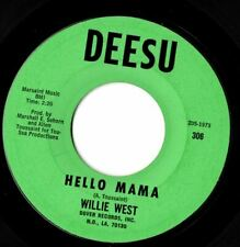 Willie West Hello Mama  Northern soul Popcorn MINT-
