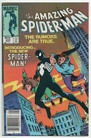 Amazing Spider-Man 252 Marvel 1984 VF 1st Black Costume Venom Secret War 8