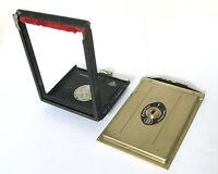 Rolleiflex Cut Film PLate Adapter Back/Door With Film Plate Holder