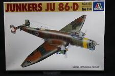 XX089 ITALERI 1/72 maquette avion 114 Junkers JU 86-D1 JU86 1980 Ptitoys