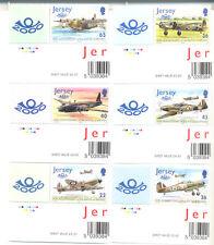 Jersey-Battle of Britain World war II-Military - Aviation set mnh