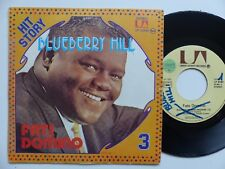 HIT STORY N°3 FATS DOMINO Blueberry hill 35882 Pressage France ERREUR LABELS RTL