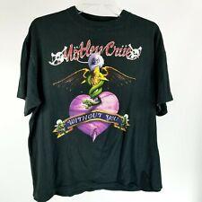 Motley Crue Without You Vintage Original Brockum XL Dr. Feelgood T-Shirt. U.S.A.