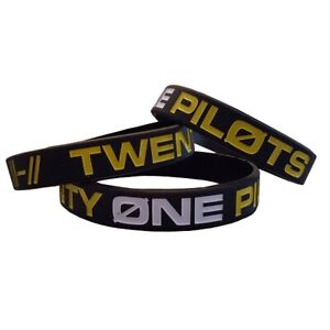 Twenty One Pilots Silicon Rubber Wristband (21 Pilots)