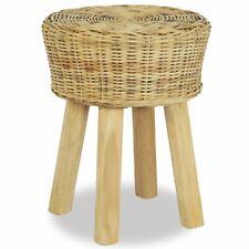 vidaXL Bar Stool 35x45cm Natural Rattan Home Kitchen Office Cafe Chair Seat