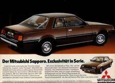 MITSUBISHI-SAPPORO-1981-Reklame-Werbung-genuine Advert-La publicité-nl-Versand